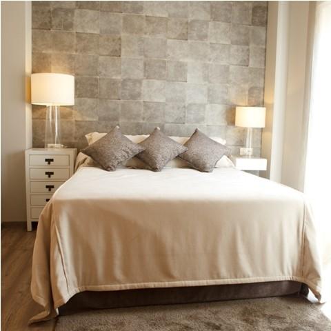 Habitación dormitorio decorada por Tapidecor