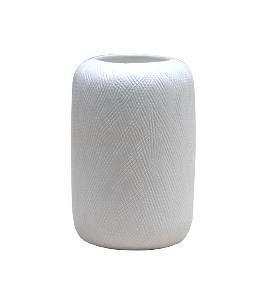 Jarrón de cristal con forma de cilindro