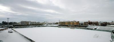 L'aragona dopo la nevicata di febbraio 2012