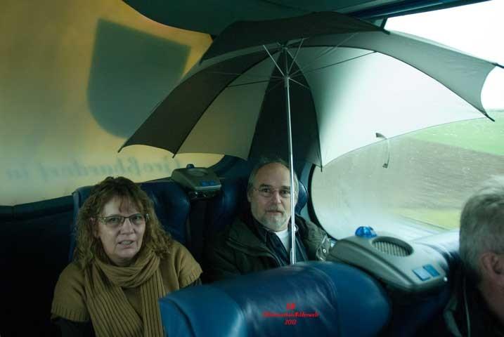 Regen im Omnibus.