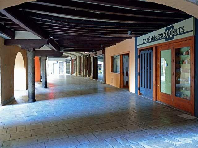 Seu de Urgell; Typisch überdachte Fußwege