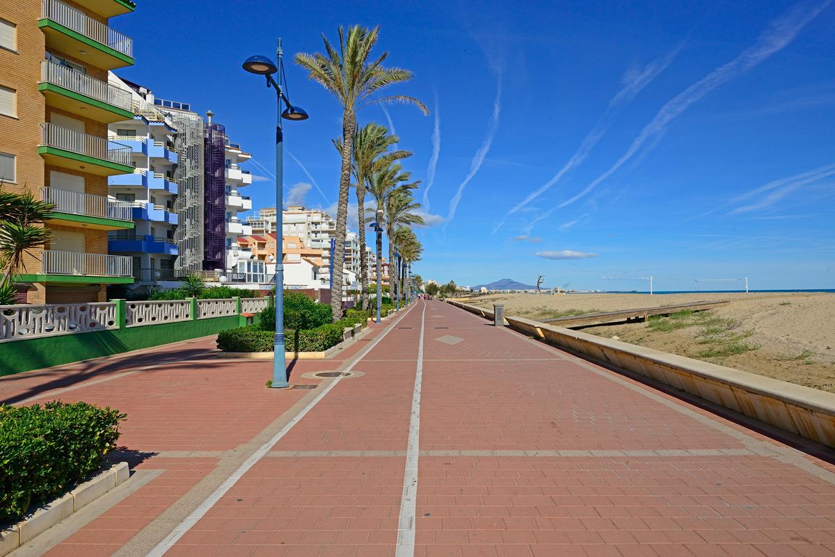Peniscola; Promenade