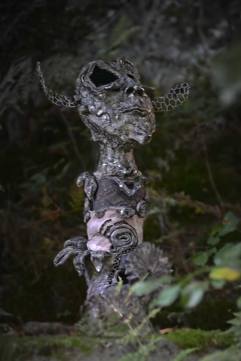 Künstler: Bellin-Schewe - DerSeher; Foto und Bildbearbeitung Volker Grünenthal