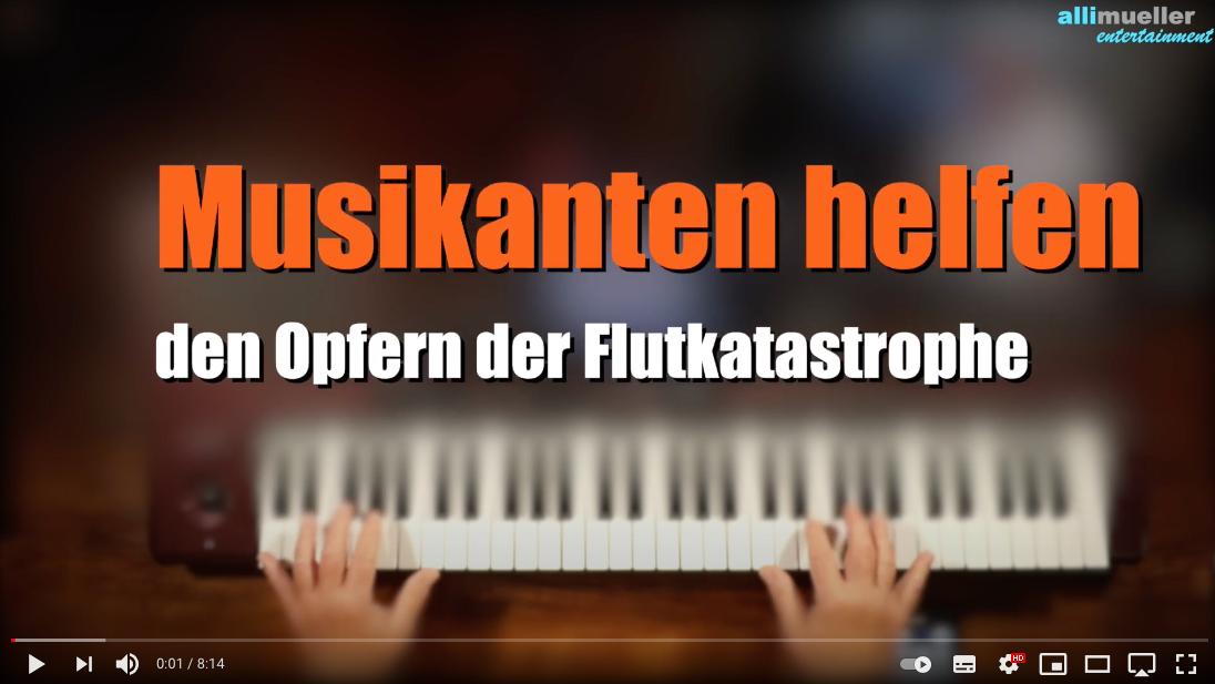 Musikanten helfen den Opfern der Flutkatastrophe