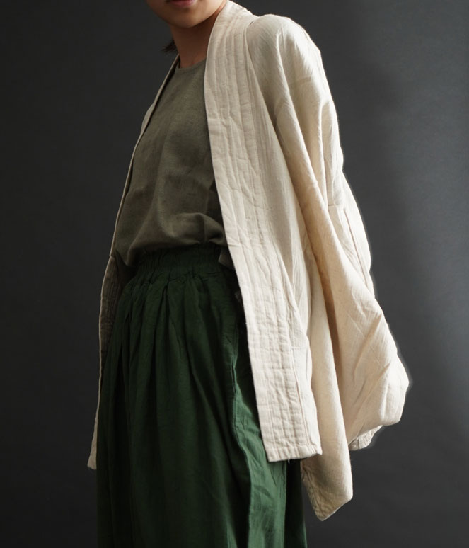 ヂェン先生の日常着 むささびカーディガン イメージ