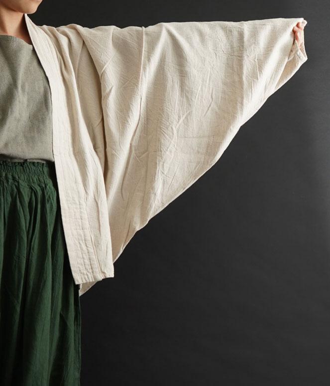 ヂェン先生の日常着 むささびカーディガン ドルマン袖