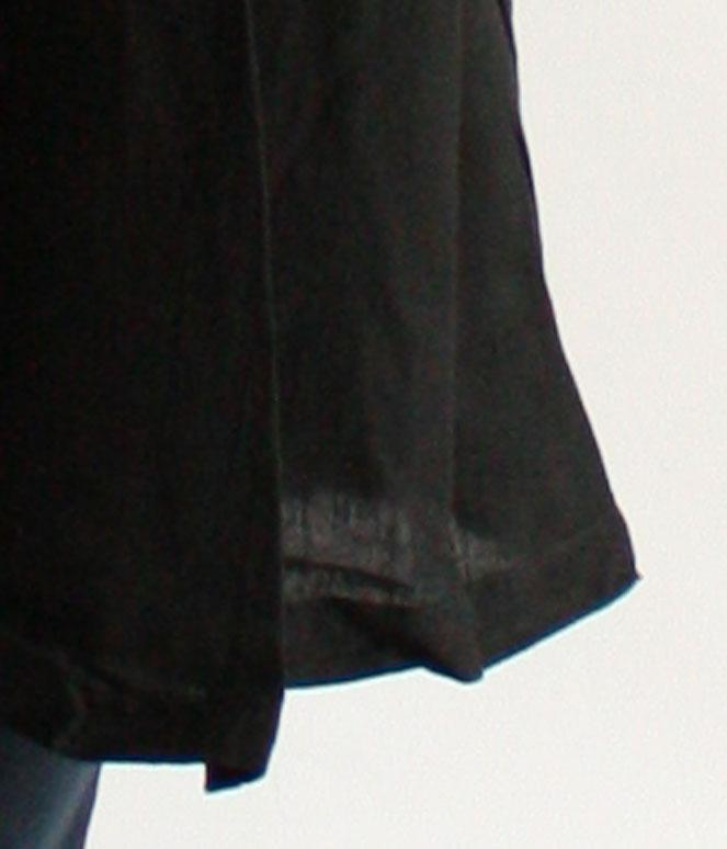ヂェン先生の日常着 へちまえりロングカーディガン 裾元