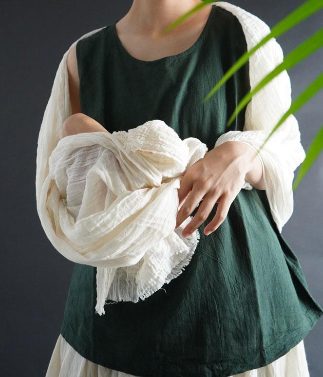 ヂェン先生の日常着 ふわふわストール 台湾 ガーゼ 肌ざわりのいい一枚 冷房対策にも