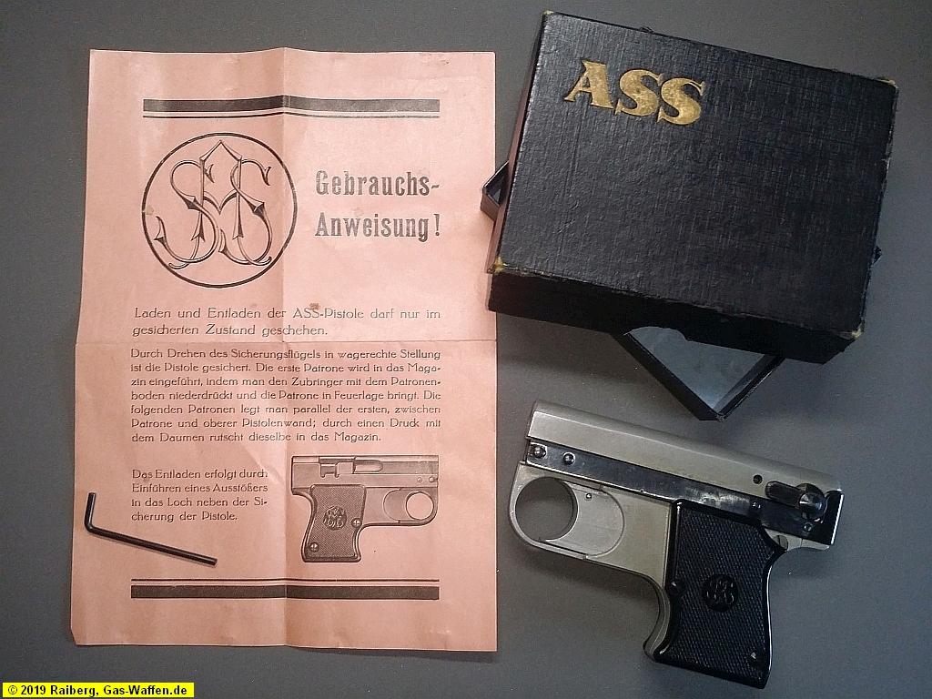 Schreckschusspistole ASS, Modell 33/5