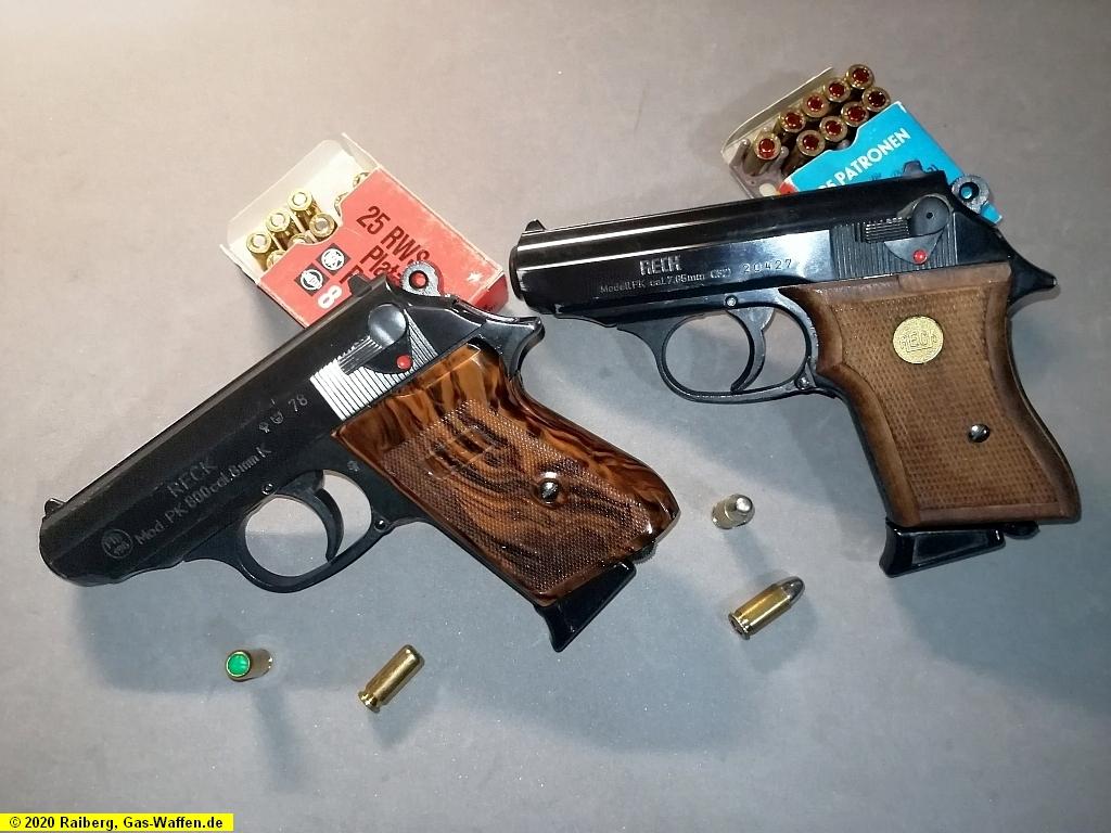 Reck, Modell PK, Modell PK 800, Kaliber 7,65 mm, Kaliber 8 mm K.