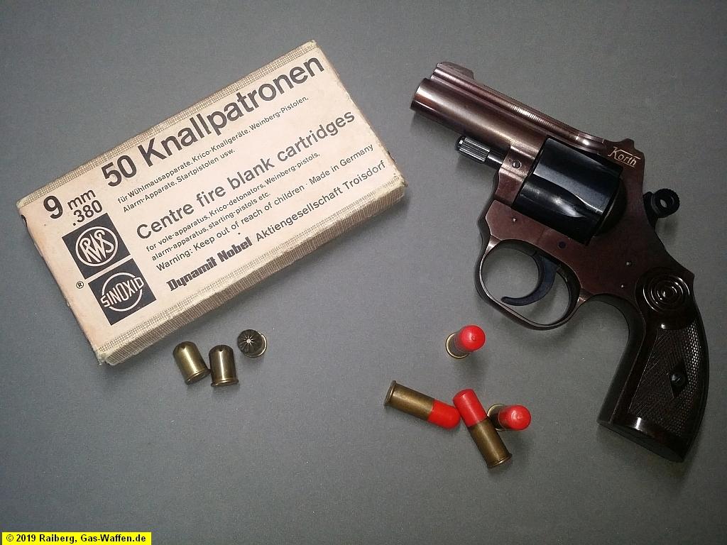 Korth, Korth-Revolver, Modell 9, 9 mm Knall