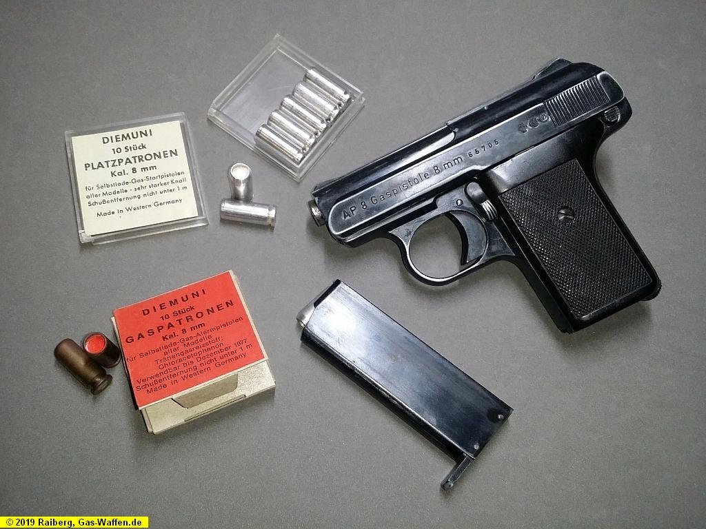 Reck, Modell AP8, Kaliber 8 mm