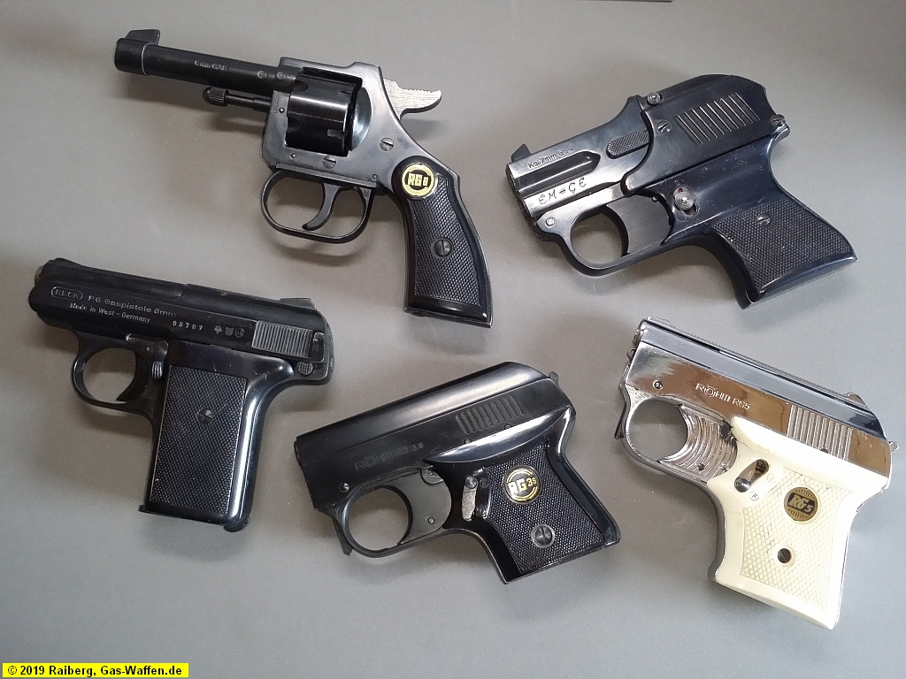 Schreckschusswaffen ohne PTB-Zeichen