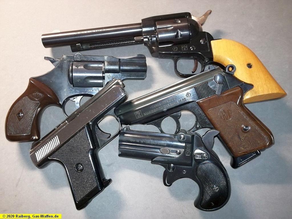 Kleinkaliber, 4mm M20, 4 mm Randzünder, Pistolen, Revolver, PTB, F im Fünfeck, Kipplauf, Single Action