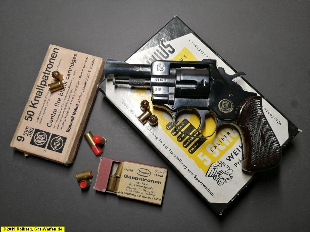 Revolver Weihrauch, Modell Arminius HW 1, Typ 4