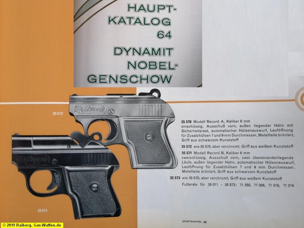 Firma Fritz Barthelmes, Record, Modell A, Modell B