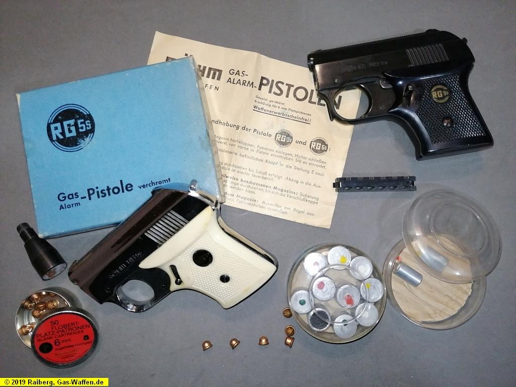 Röhm Modell RG 5s, Gaspistole, Schreckschusspistole, ohne PTB