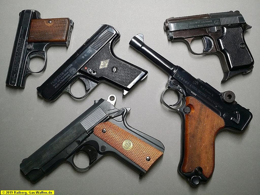 Schreckschusswaffen mit PTB-Zeichen
