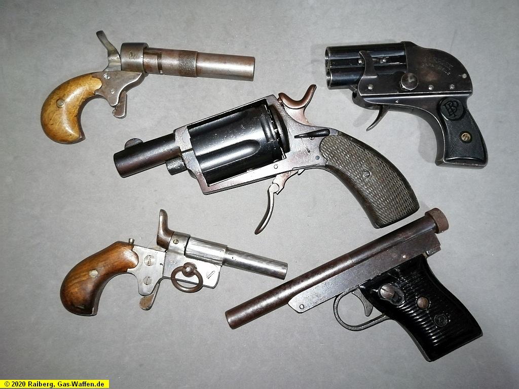Scheintod, Pistolen, Revolver, Niemeyer