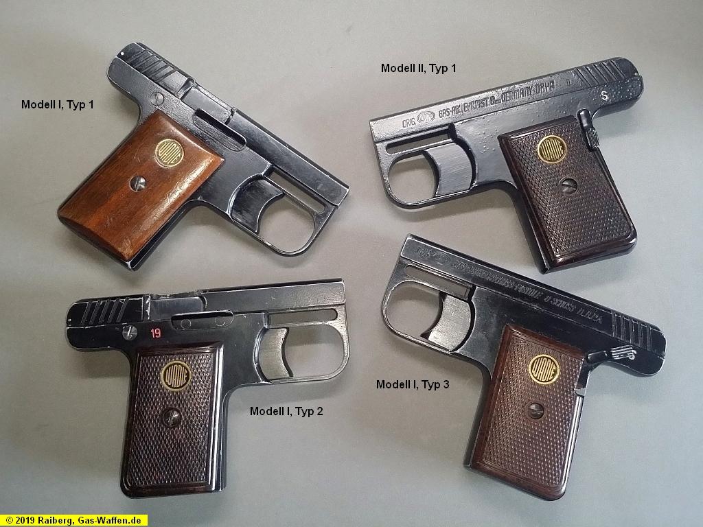 Wadie-Pistolen, Modell 1, Modell 2, 8 mm Lacrimae