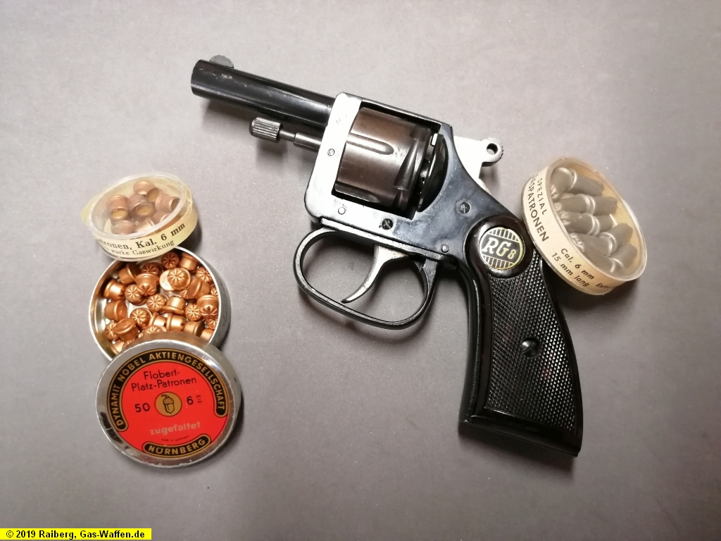 Revolver Röhm, Modell RG 8, Typ 1