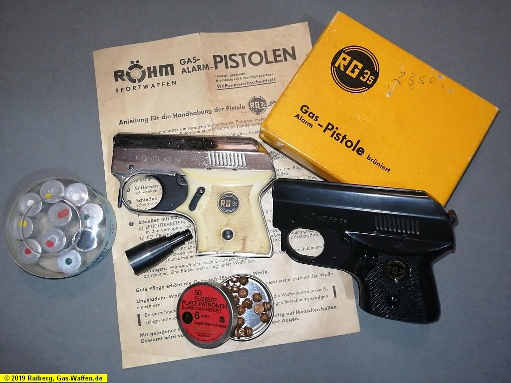 Röhm, Modell RG 3s, Gaspistole, Schreckschusspistole, ohne PTB