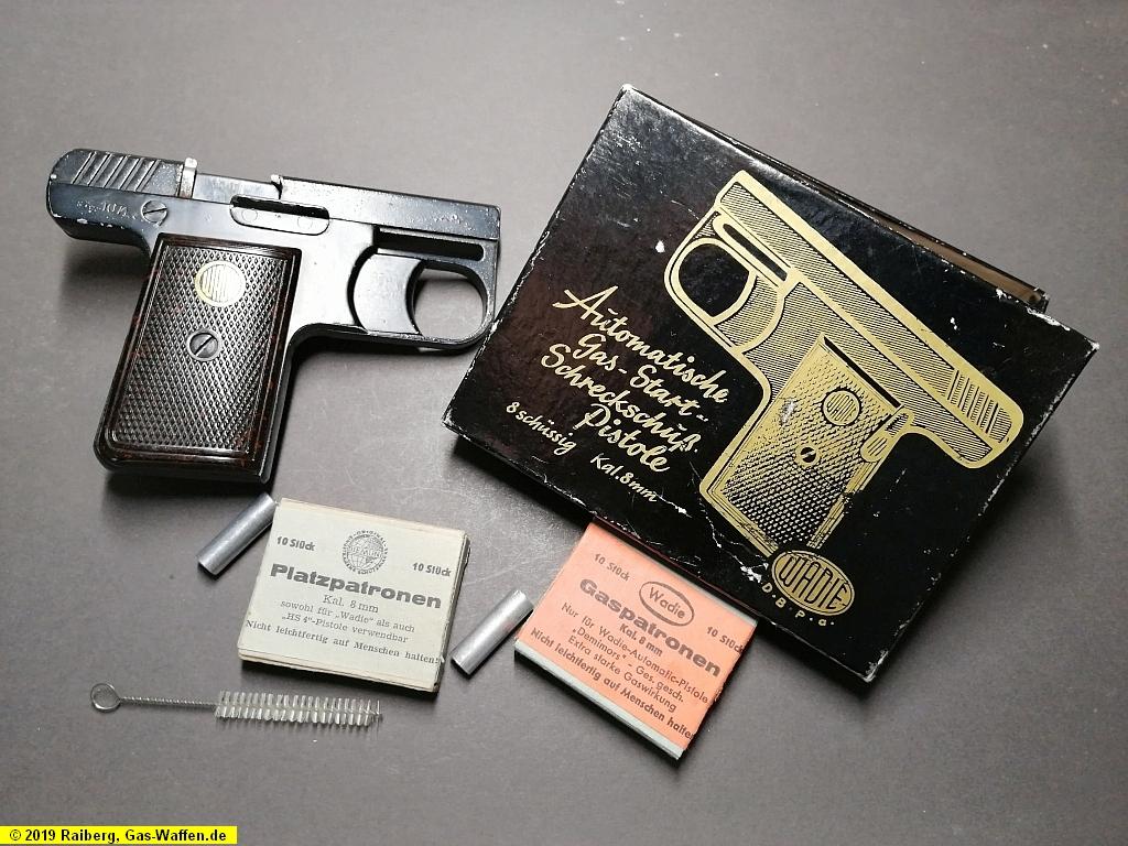 Pistole Wadie, Modell 2, Kaliber 8 mm Lacrimae