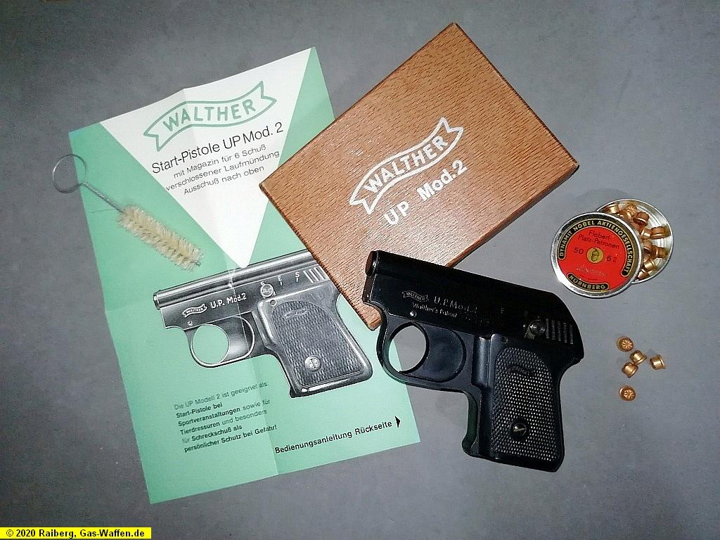 Pistole Walther, U.P. Modell 2, 6 mm Flobert