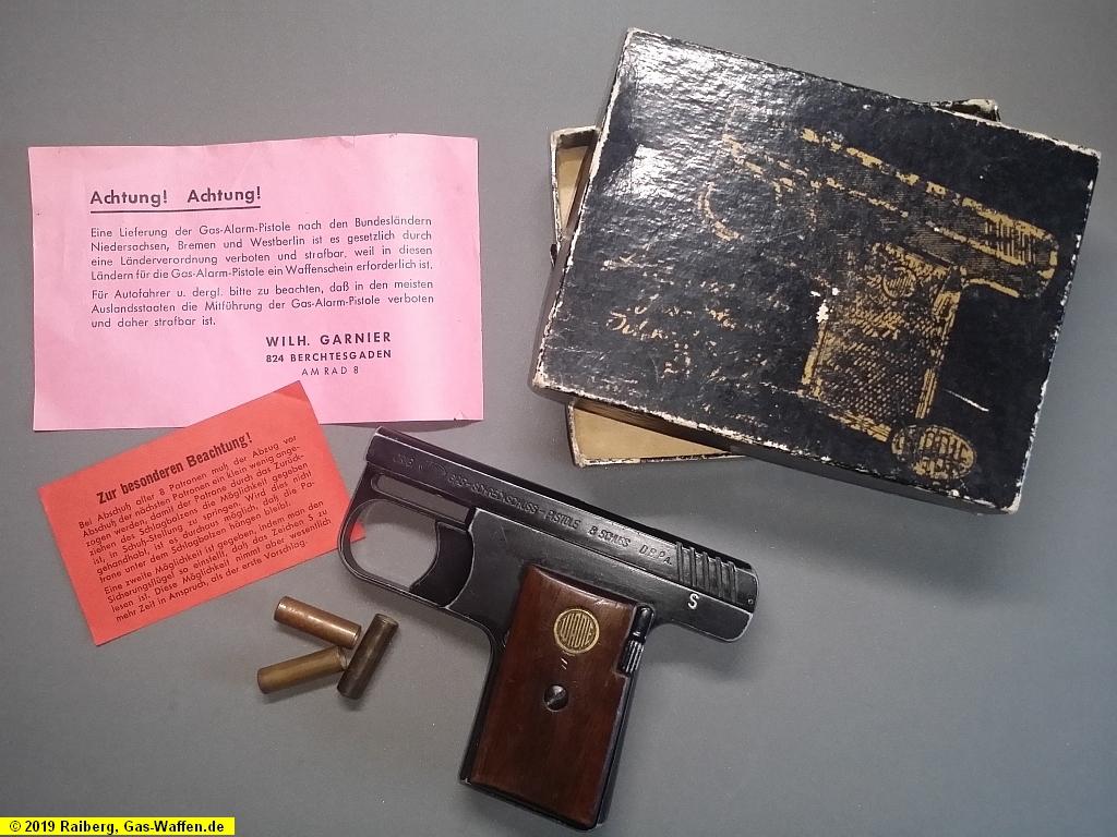 Pistole Wadie, Modell 1, Kaliber 8 mm Lacrimae