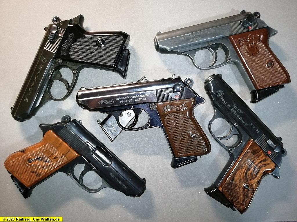 Pistole Walther, Modell PPK, Umarex, Modell PPK, Kaliber 7,65 mm Browning, Kaliber .315 K