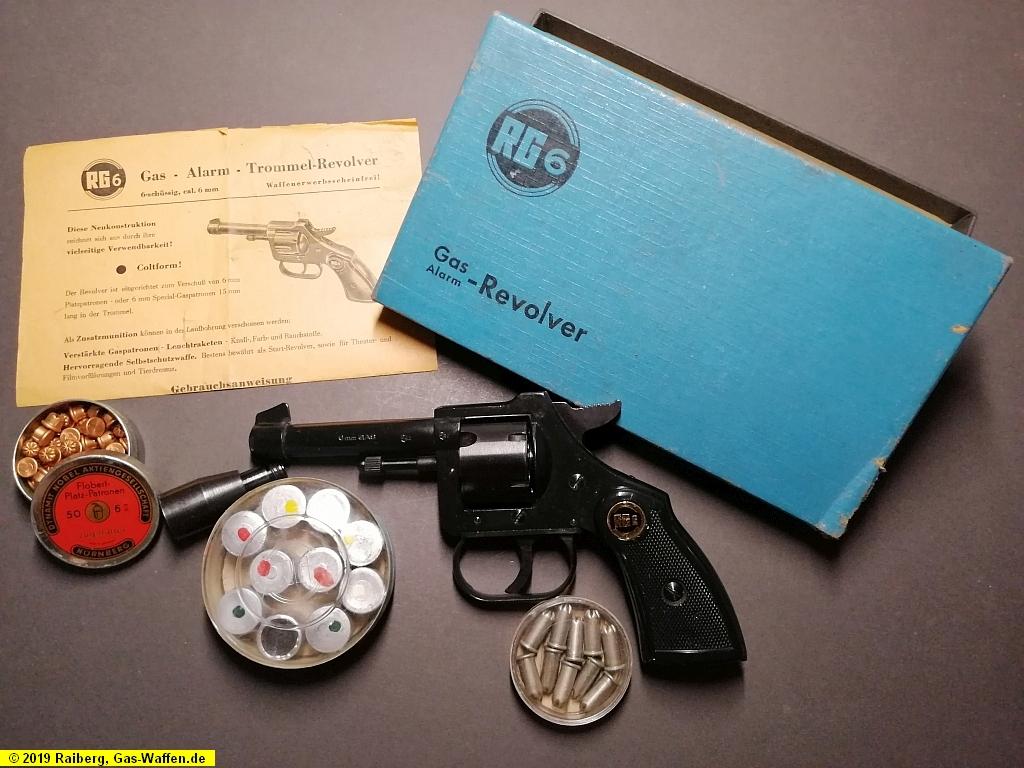 Revolver Röhm, Modell RG 6