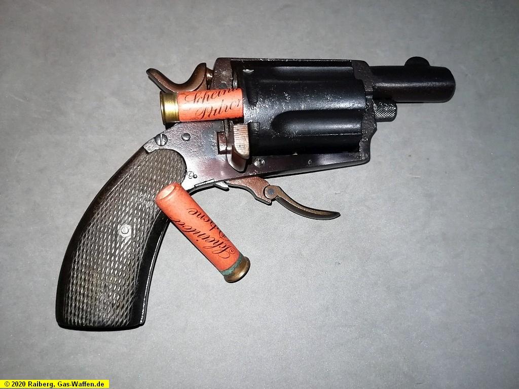 Scheintod-Hahn-Revolver, Hahn-Revolver, Kaliber .410, Kaliber 12 mm