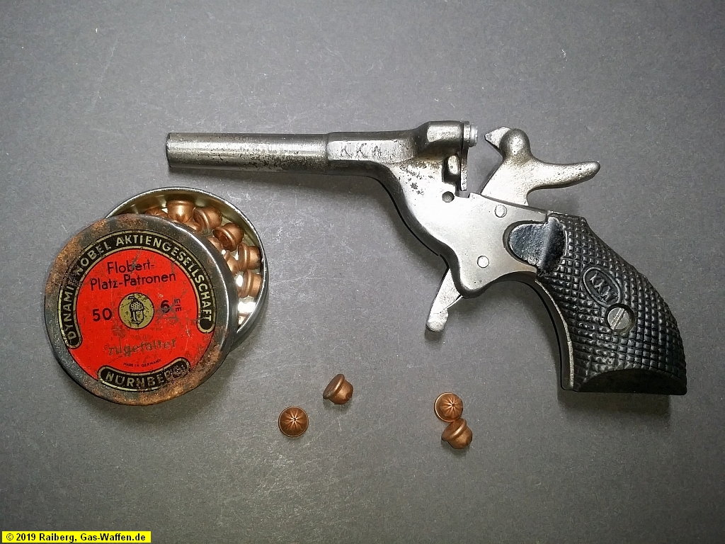 Startpistole KKW, Kal. 6mm Flobert Platz