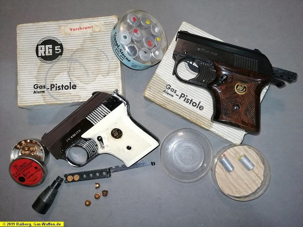 Röhm, Modell RG 5, Gaspistole, Schreckschusspistole, ohne PTB
