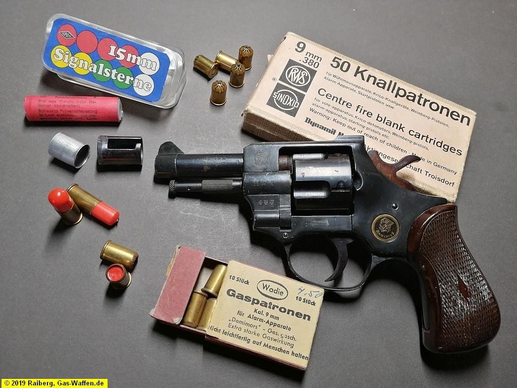 Revolver Weihrauch, Modell Arminius HW 1, Typ 3