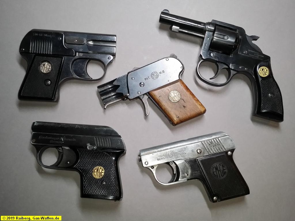 Firma EM-GE, Pistolen und Revolver, Moritz, Gerstenberger