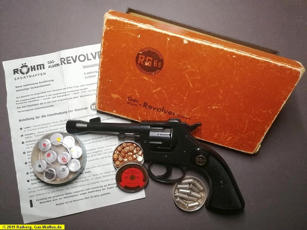 Revolver Röhm, Modell RG 6s
