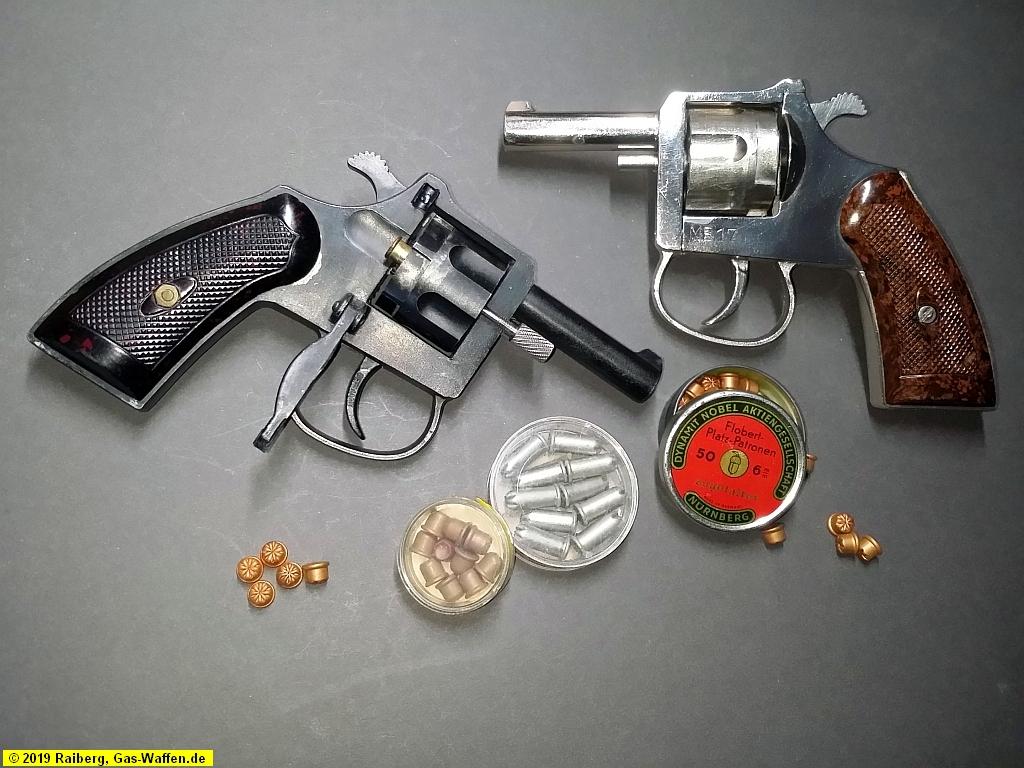 Cuno Melcher, Melcher, ME, Modell ME 17, Revolver