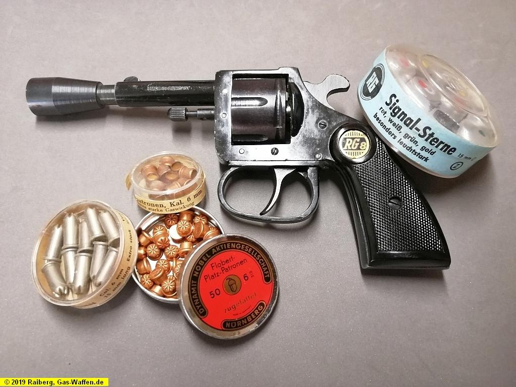 Revolver Röhm, Modell RG 8, Typ 2