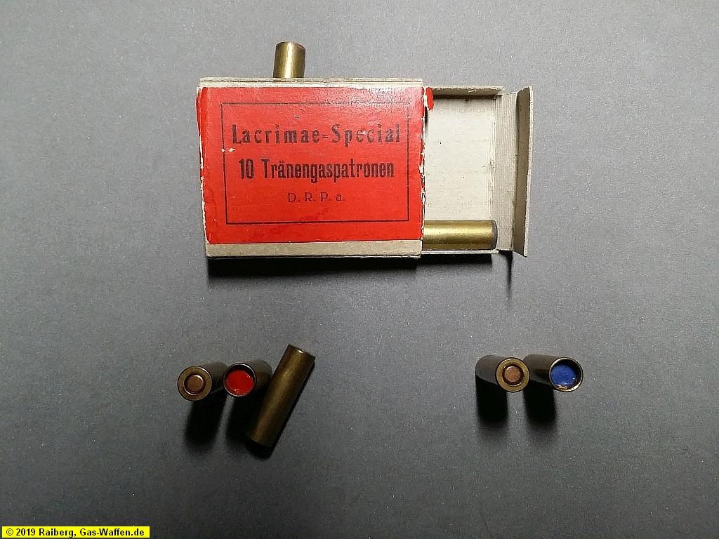 Platzpatronen, Gaspatronen, 8 mm Lacrimae
