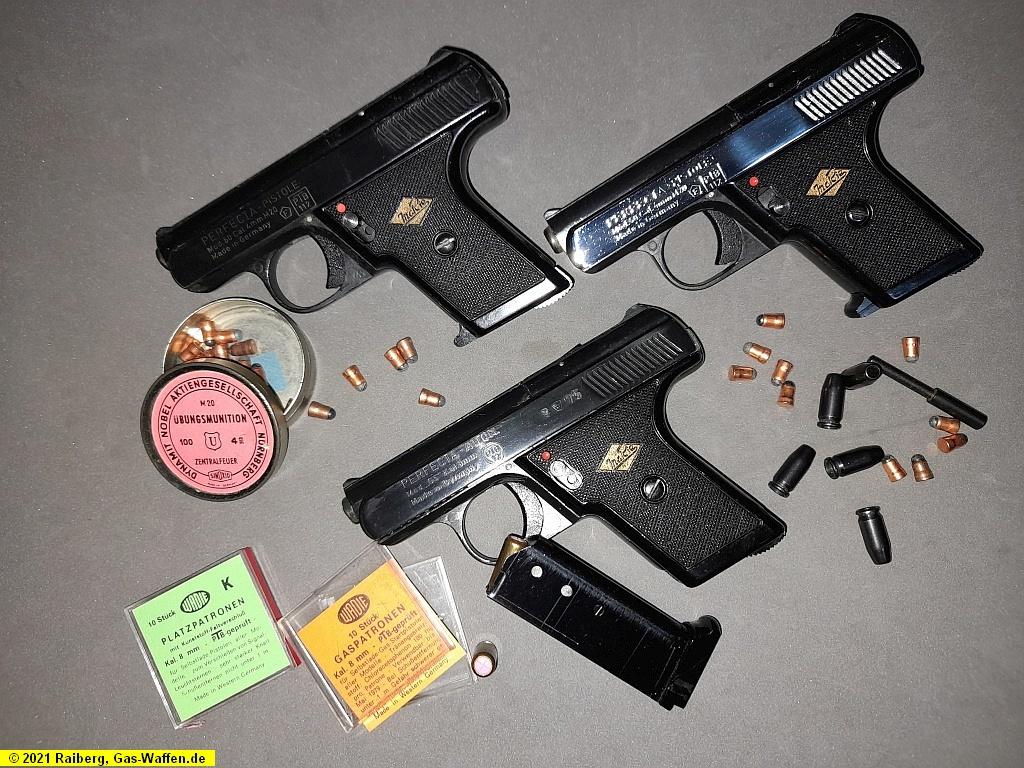 Mayer & Riem, MaRie, Modell 50, Modell G5, 4 mm M20, 8 mm K, Gaspistole, Freie Pistole