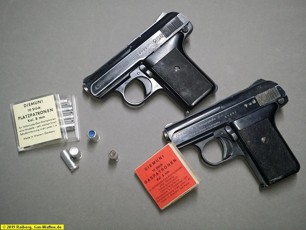 Reck, Pistole, 8 mm, Selbstladepistole, Modell 6, Modell AP 8