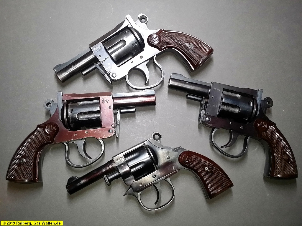Revolver NHM, Modell 6, Modell 9