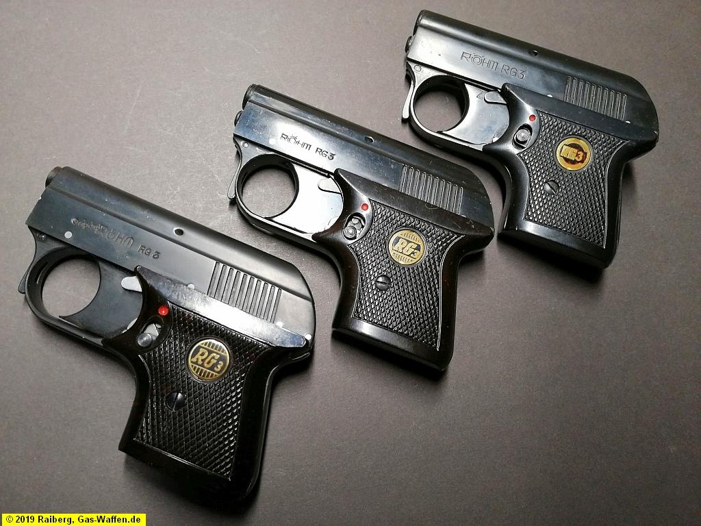 Pistole RG 3