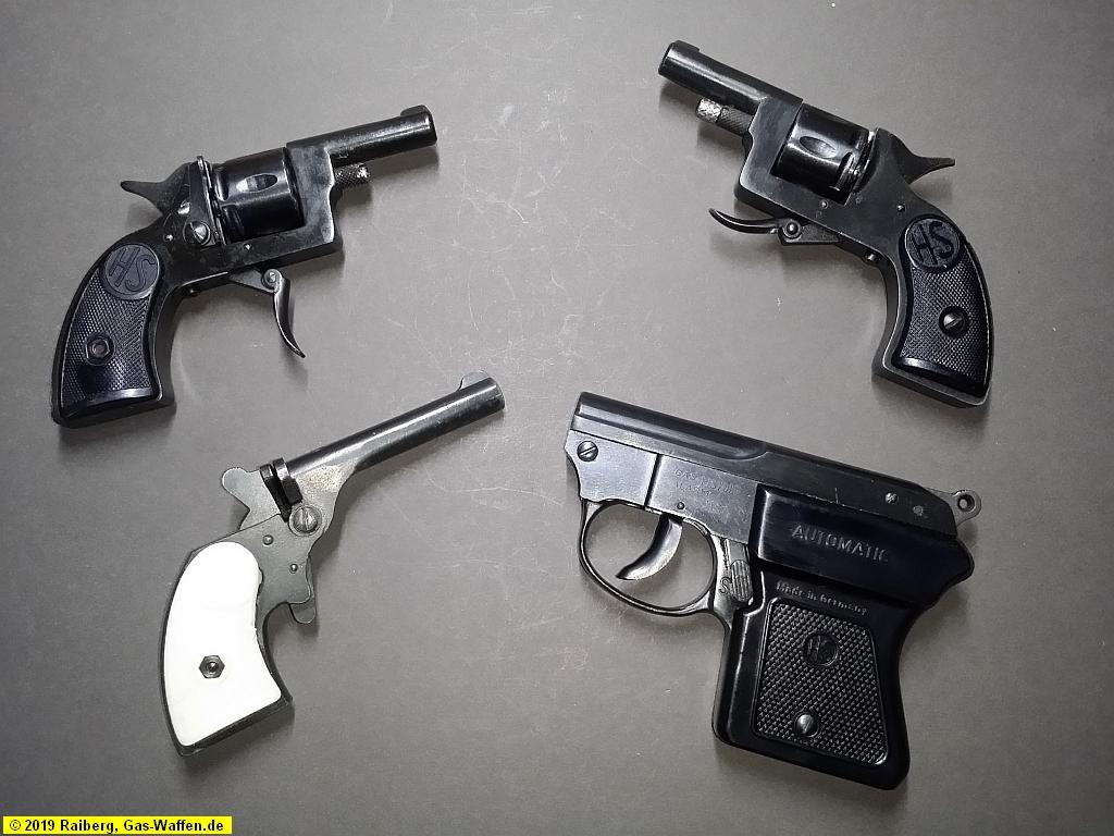HS, Herbert Schmidt, Modell 1, Modell 1a, Modell 3, Modell 4, 8 mm Lacrimae