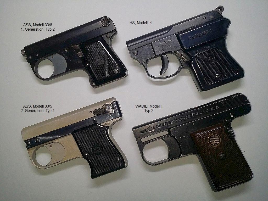 Verschlusslose Pistolen, 8 mm Lacrimae
