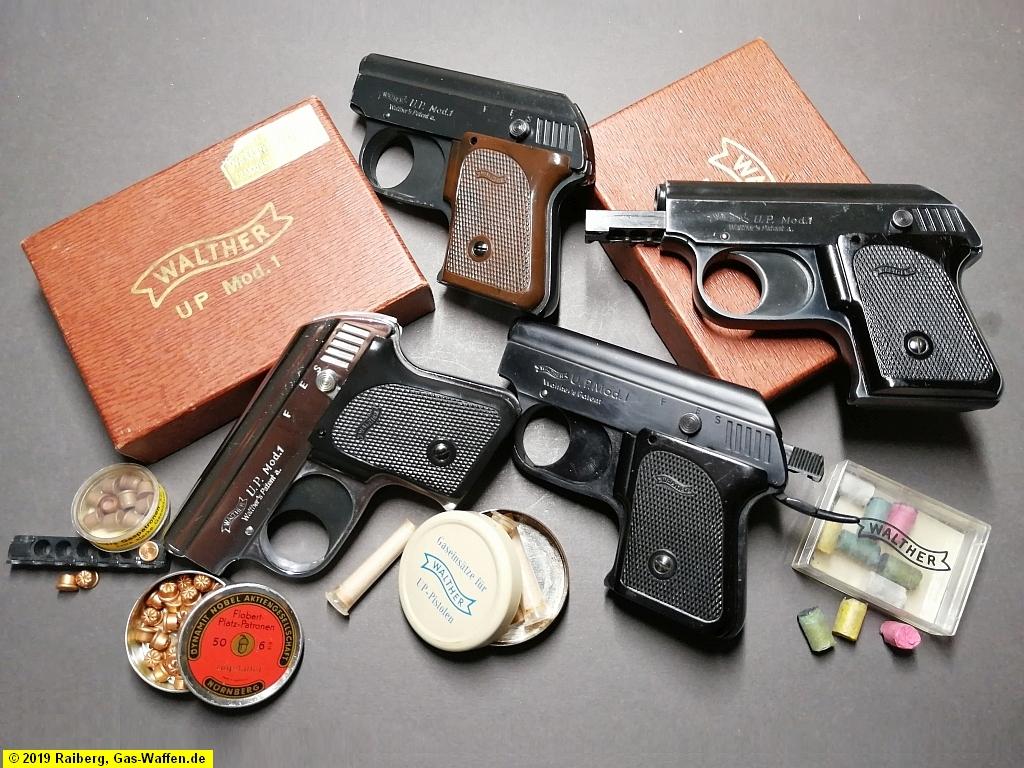 Firma Walther, U. P. Mod. 1, U.P. Mod. 2