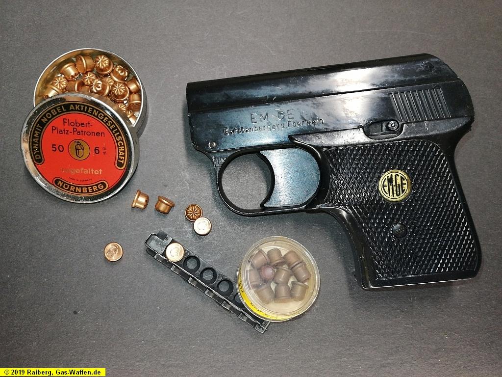 Pistole EM-GE, Modell 6d, Kaliber 6 mm Flobert
