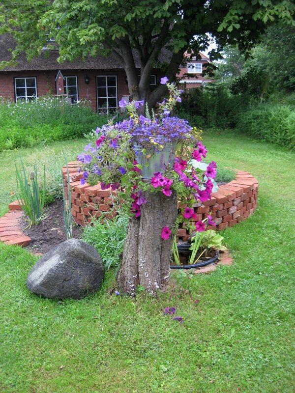 Genießen Sie Ihren Aufenthalt auch in unserem Garten.