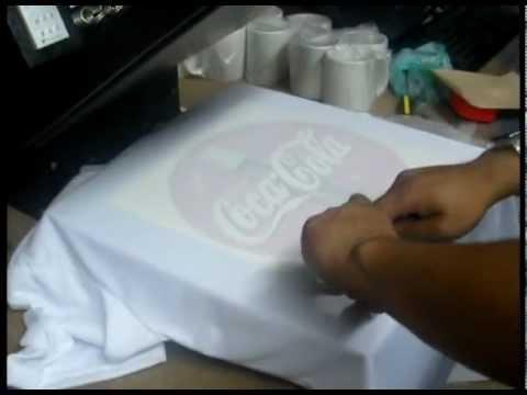 camiseta para sublimar